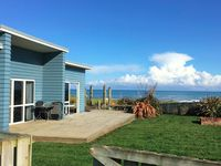 The house is in a fantastic location, with clear ocean views, well placed spa facing the water &