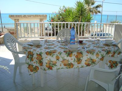 Photo for Beautiful apt with sea view