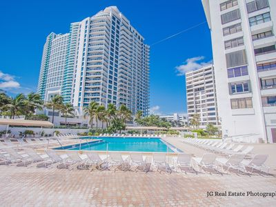 Photo for Hollywood beach Ocean front condo 2B/2B at Alexander Towers