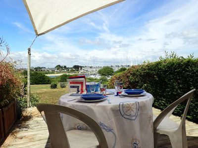 Photo for EXCEPTIONAL HOUSE SEA SEA PORT OF CROUESTY- Morbihan-