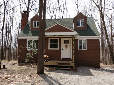 Photo for **Secluded** Laurel Highlands Cabin near *Seven Springs*