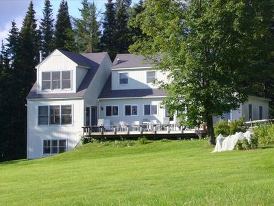 Photo for Spacious Greensboro House, Caspian Lake/Mountain  Views,  Beach Acc