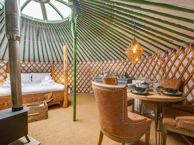 Photo for Barn Owl Yurt - One Bedroom House, Sleeps 4