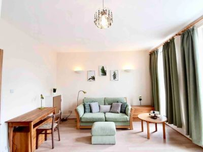 Photo for Ref.f3 Stylish City Flat 💚2Bed ❤️FreeParking