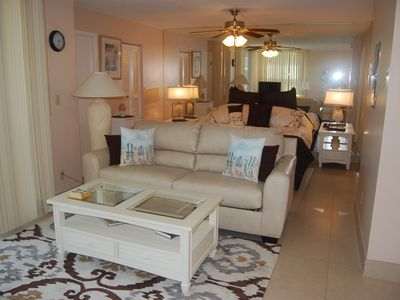 Photo for Elegant Retreat With Great Views Of The Gulf, 2 Heated Pools & Tennis Courts.