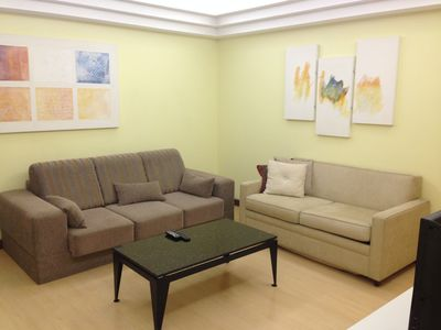 Photo for Flat Ipanema Palace - 2 rooms