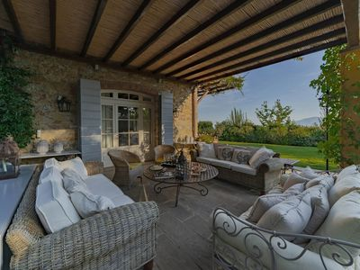 Photo for Luxury villa near Lucca with swimming pool and wonderful views