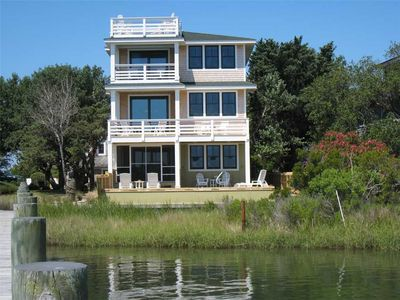 Photo for Sea Moor Lake: Harborfront with amazing views. Heated Pool.