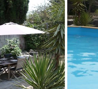 Photo for Private Villa 90m², 2 bedrooms (6 pers), private pool & garden, very quiet