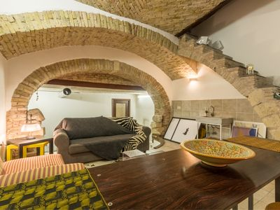 Photo for La Casa delle Carrozze - Loft in the center of Cagliari