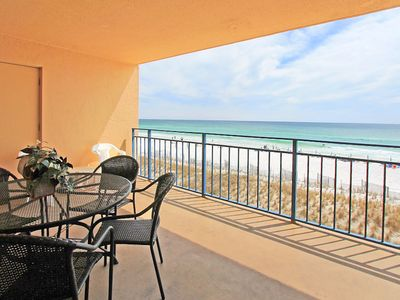 Photo for ☼Nautilus 1303-2BR-June 29 to July 1 $984 total!☼ Gulf Fnt Balcony! Heated Pool!