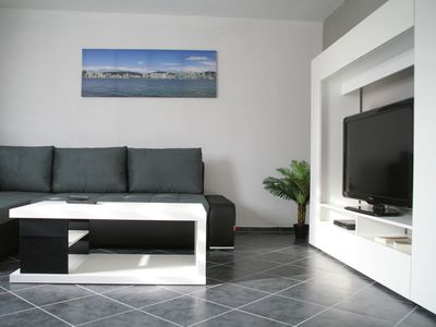 Photo for Beautiful 85 m² apartment with 2 living rooms and 2 bathrooms