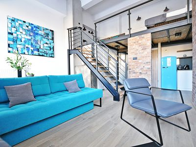 Photo for Lofts Cracow Apartments City Center - Apartment Turquoise