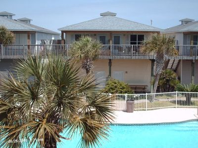 Photo for Beautiful Pool - 2 BR/2 BA - 1 Mile to Beach