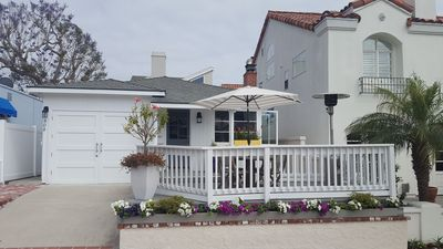 Photo for Cottage by the Sea.  Charming two bedroom, two full bath front unit in CDM.