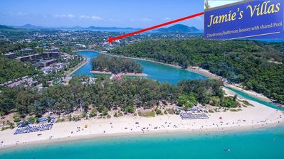 Photo for Nice detached FH in quiet but central location in the south of Phuket