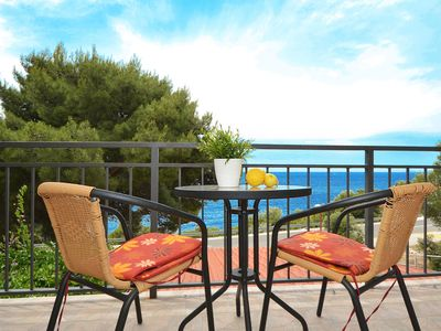 Photo for BILO 2 with 2 bedrooms & 2 bathrooms, sea view, only 30 m from the beach
