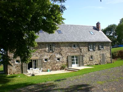 Photo for **** Renovated large farm in the countryside.