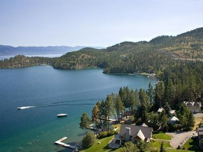 Photo for Spectacular Mountain and Lake Views on Flathead Lake, Montana