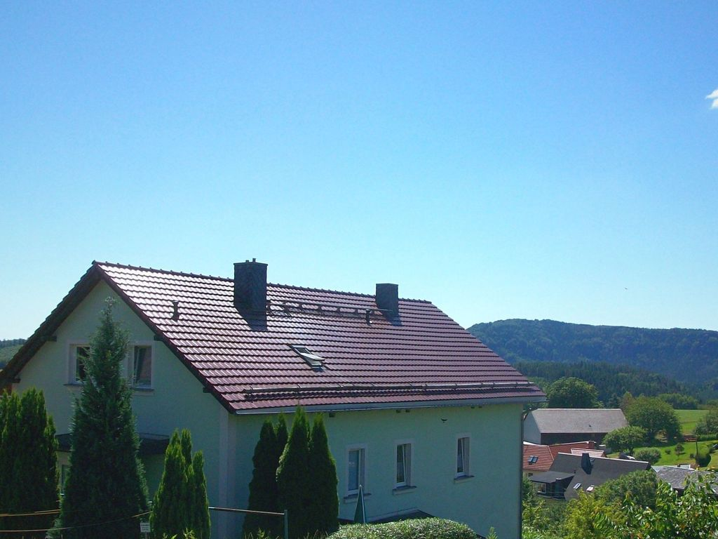 Holiday Home In Saxon Switzerland With Mountain View Terrace And