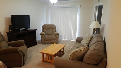 Photo for Perfect Disney Vacation Rental Condo 3.5 miles from Gates of Disney