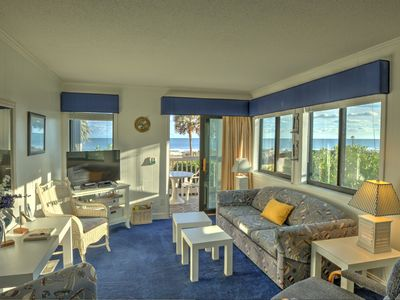 Oceanfront gorgeous views first floor corner unit,pools,kiddie pools,hot tubs,exercise trail