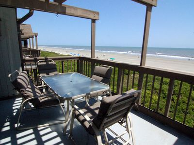 Photo for Full Ocean Views | Steps To The Beach | Porch | Wifi | 3 BR Kiawah Island Villa