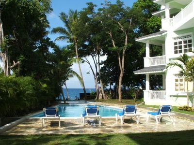 Photo for 2 BR Beach Front Condo in Sosua with Stunning Views