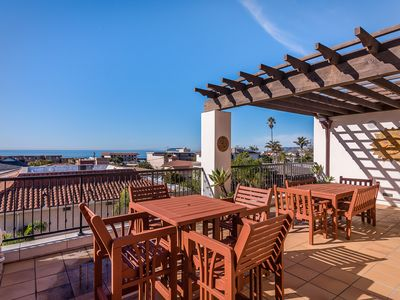 Photo for Valentina Suites 3BR w/ View Balcony - Walk to Dining & Beach