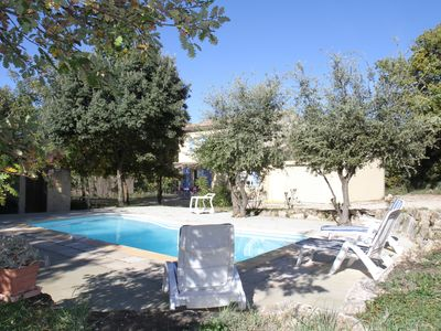 Photo for Gite provencal comfort with private pool and very quiet ds sports