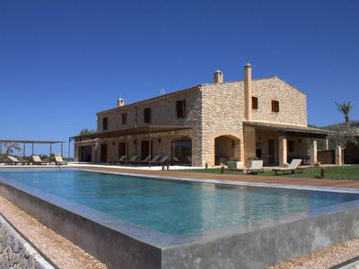 Photo for Authentic but luxury country house with swimming pool near Manacor in Mallorca