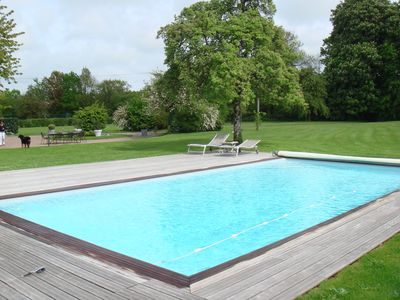 Photo for House / Villa - Deauville Vauville House with character with swimming-pool