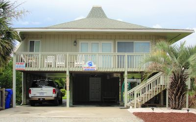 "Photo for ""The Beach Bucket"" Beautiful Beach House located in Oak Island, NC"