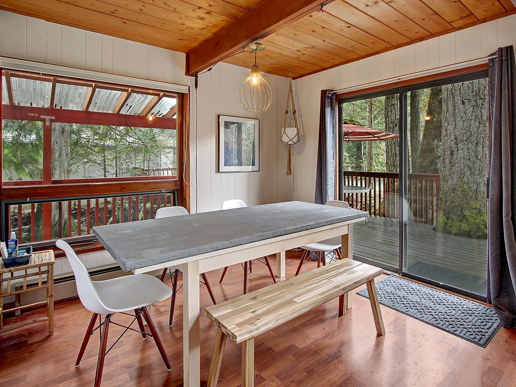 High Ceiling Cabin : Stunning cabin on the sparkling skykomish high ceilings