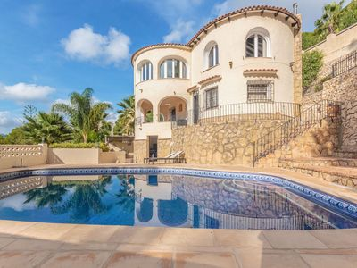Photo for Beautiful villa in Naja style with phenomenal view in Moraira