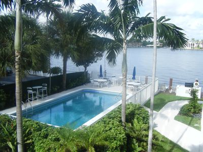 Photo for Beautiful Intercoastal Condo Steps To The Ocean!!!