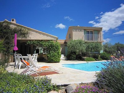 Photo for Beautiful Provencal Villa, Private Salt Water Pool, Amazing Views. 2018 Rates!