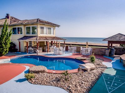 Photo for Hawaiian Palace | Oceanfront | Private Pool, Hot Tub