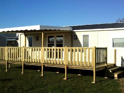 Photo for Camping La Clairière *** - Mobile home Rapidhome 4 Rooms 6 People