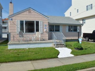 Photo for Single home 1.5 blocks to the beach. Fenced in yard. Pet friendly rental.