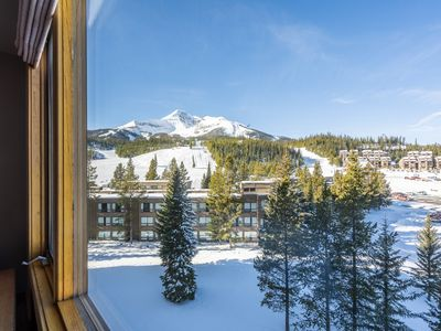 Photo for NEW LISTING! Ski-in/out condo w/shared hot tub, pool & gym-fantastic mtn views