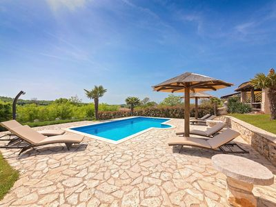 Photo for Holiday house, beautiful panoramic view , big garden with pool