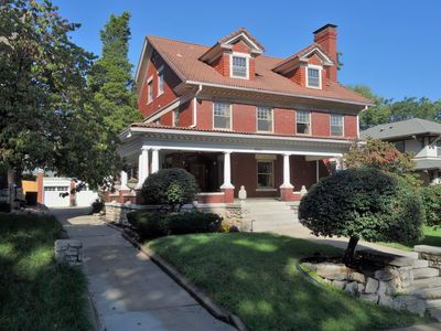 Photo for Palatial and Pristine 5 bedroom 3 1/2 Historic Mansion in trendy midtown KC