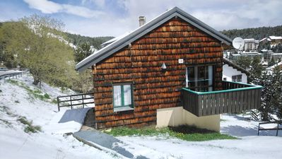 Photo for Nice sunny chalet at the foot of the slopes of FONT-ROMEU / PYRENEES 2000