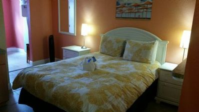 Photo for Pelican Pointe Condo/Hotel Unit #412 Affordable Efficiency in the Heart of Clearwater Beach!
