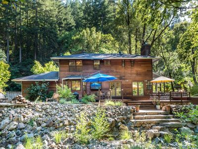 Photo for Stunning Home Tucked in the Hills of Sonoma Wine Country (2 night Min)