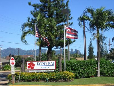 Photo for One BR (for 4) oceanside condo on Kauai's golden beaches of the Coconut Coast