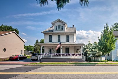 This home is just minutes from downtown Harrisburg.