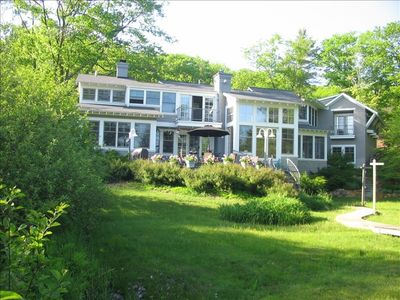 Photo for Beautiful Leelanau Peninsula Architect-Designed Lake Home