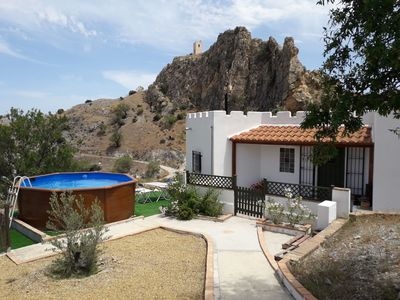 Photo for Located on 1 hectare finca and a 5 minute walk to authentic Spanish village